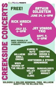 Creekside Concerts 2016 poster jpg