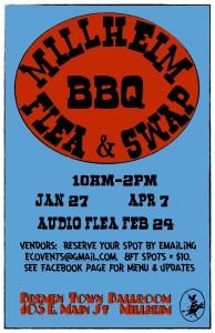 Millheim BBQ Flea & Swap Poster jpg